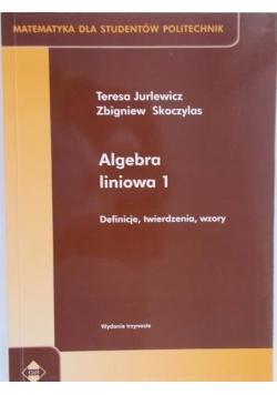 Algebra liniowa 1. Definicje, twierdzenia, wzory