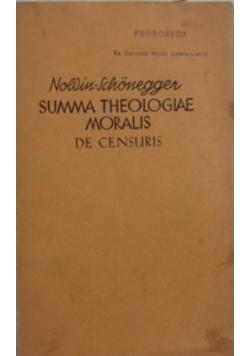 Summa Theologiae Moralis, 1940 r.