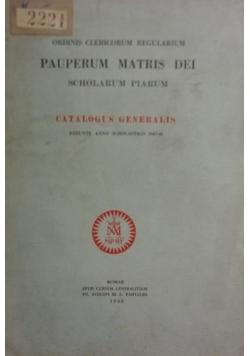 Pauperum Matris Dei ,1948r.