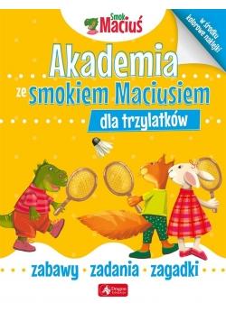 Akademia ze Smokiem Maciusiem dla trzylatków