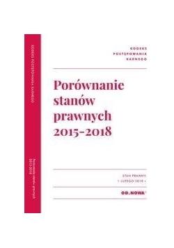 Porównanie stanów prawnych KPK 2015-2018
