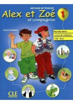 Methode De Francais Alex et Zoe et Compagnie. 1 + CD