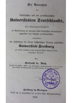 Der unterschied, 1846 r.