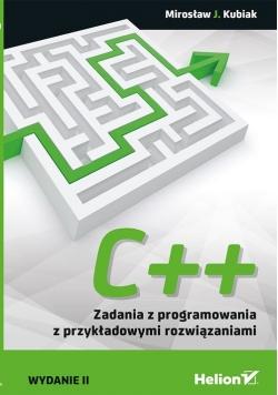 C++ Zadania z programowania z przykładowymi rozwiązaniami