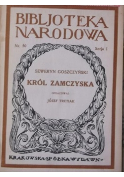 Król zamczyska,1929 r.