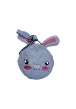 Torebka na ramię pluszowa królik