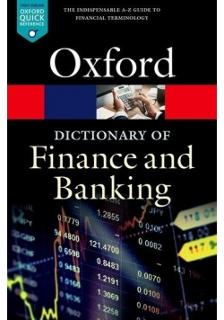 A Dictionary of Finance and Banking OXFORD