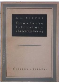 Powstanie literatury chrześcijańskiej, 1950 r.