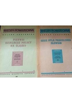 Pierwsi działacze polscy na Śląsku/ Gdzie była prakolebka Słowian, 1947 r.