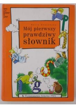 Mój pierwszy prawdziwy słownik