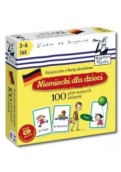 Kapitan Nauka.  Niem. dla dzieci. 100 pierwszych.