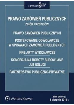 Prawo zamówień publicznych. Zbiór przepisów