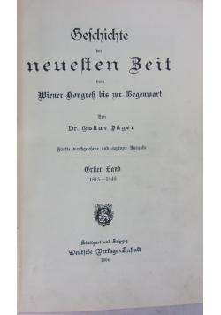 Geschichte ber neulten Beit, 1904r.