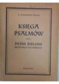 Księga psalmów oraz pieśni biblijne brewiarza rzymskiego, 1947 r.
