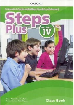 Steps Plus 4 CB podręcznik wieloletni + CD OXFORD