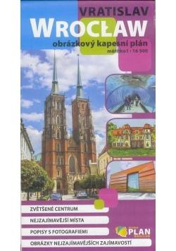 Plan kieszonkowy rys. - Wrocław w. czeska 1:16 500
