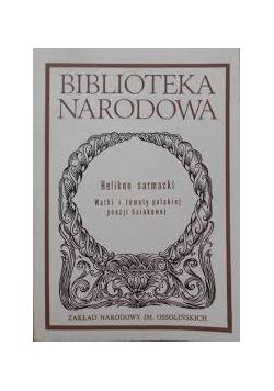 Biblioteka Narodowa. Helikon sarmacki