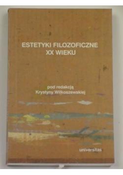 Estetyki filozoficzne XX wieku