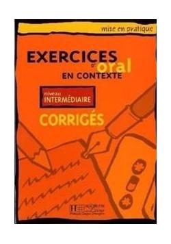 Exercices d'oral en... - intermediaire corriges