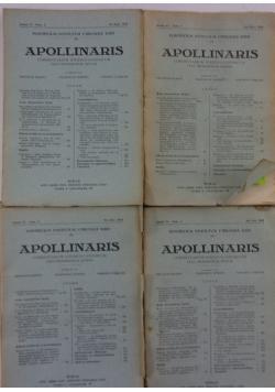 Apollinaris  I-IV, 1933 r.