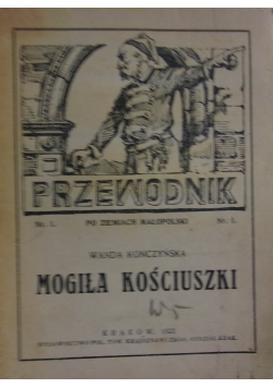 Mogiła Kościuszki, 1921 r.