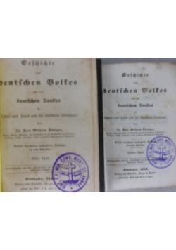 Geschichte deutschen Boltes,Tom 1-4,5-8,1845r.