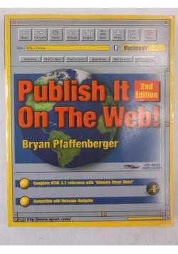 Publish It on the Web + płyta CD