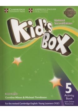 Kid's Box 5 Activity Book + Online