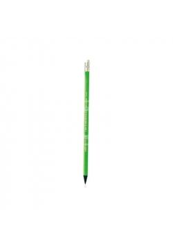 Ołówek Evolution Fluo z gumką (12szt) BIC