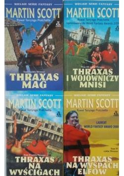 Martin Scott, zestaw 4 książek
