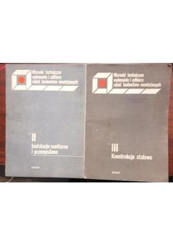 Instalacje sanitarne i przemysłowe / Konstrukcje stalowe