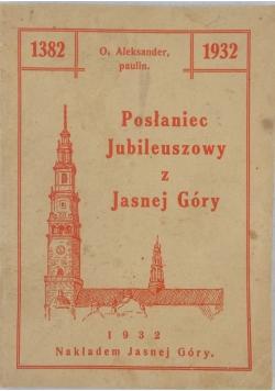 Posłaniec Jubileuszowy z Jasnej Góry, 1932r