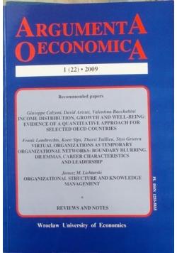 Argumenta oeconomica 1 (22)