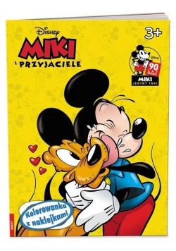 Miki i przyjaciele. Kolorowanka z Naklejkami