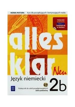 Alles klar Neu 2B Podręcznik Zakres podstawowy + CD, WSiP