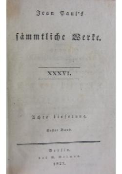 Sämtliche Werke, 1827 r.