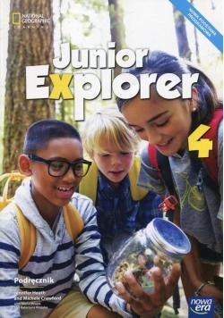 Junior Explorer 4 Podręcznik