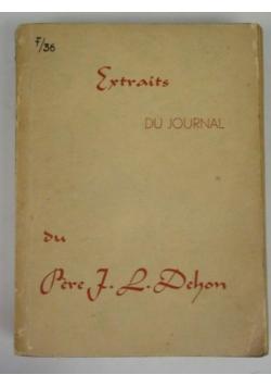 Extraits du journal, 1943 r.