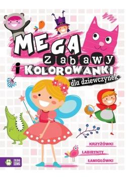 Megazabawy i kolorowanki dla dziewczynek
