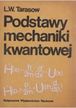 Podstawy mechaniki kwantowej