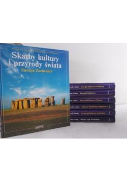 Skarby kultury i przyrody świata, zestaw 7 książek
