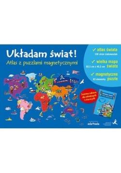 Układam świat! Atlas z puzzlami magnetycznymi