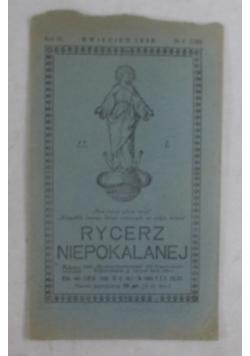 Rycerz Niepokalanej, 1930 r.