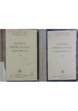 Nowele opowiadania fragmenty T. II, III