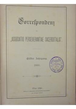 Korrespondenz, 1890r.