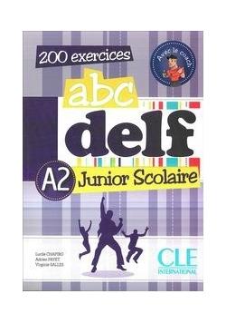 ABC Delf A2 Junior Scolaire Podręcznik z kluczem z płytą DVD