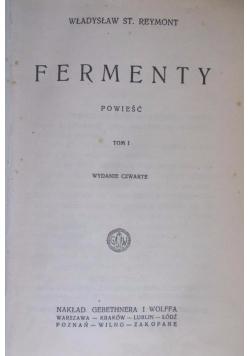 Fermenty, Tom I, 1924r.