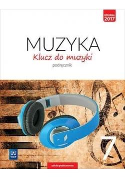 Muzyka SP 7 Klucz do muzyki Podr. WSiP