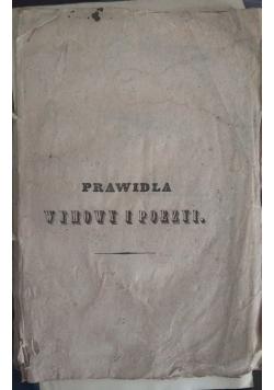 Prawidła wymowy i poezyi, 1843r