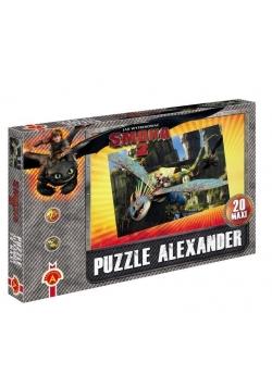 Puzzle Maxi Jak wytresować smoka 2 Pościg ALEX